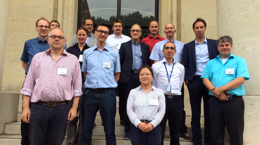 Group photo, Hi-Trace kick-off meeting